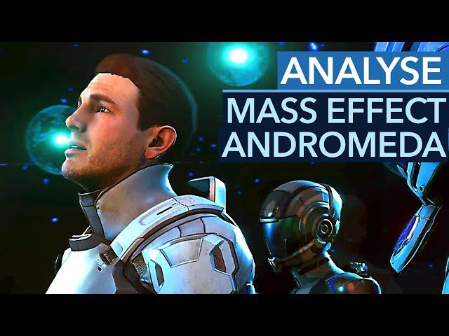 Gamewatch: Mass Effect Andromeda - Analyse der ersten Gameplay-Szenen