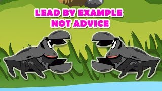 Lead by Example Not Advice - English Stories For Kids | Moral Stories In English | Short Story