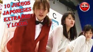 10 JUEGOS JAPONESES MAS EXTRAÑOS Y LOCOS QUE NO CREERAS QUE EXISTEN
