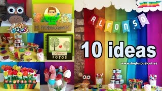 10 ideas para decorar tu fiesta con mesa de chuches DONLUNATIC