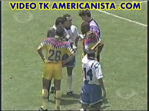 AMERICA VS PUEBLA Liguilla 94 95 partido de vuelta