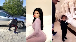 Kylie Jenner Newest Snapchat Ft Tyga,King Cairo,Kris Jenner And More