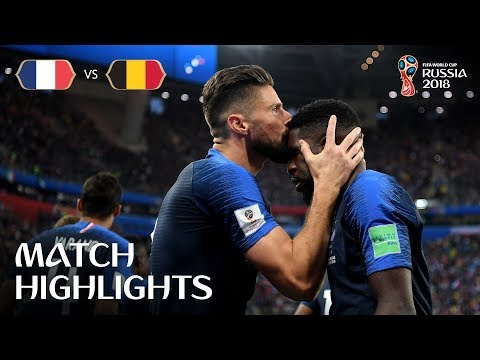 Xxx Mp4 France V Belgium 2018 FIFA World Cup Russia™ Match 61 3gp Sex