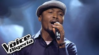 Patrick Akiba sings 'Iyawo Mi' / Blind Auditions / The Voice Nigeria 2016