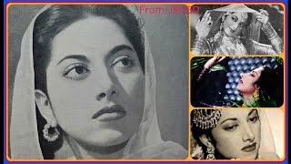 SURAIYYA~Film~NAACH~{1949}.Ishq Mein Mehroomiyan,Nakamiyan,Barbadiyan,Jo Tum Badle[78 RPM Aud