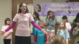 Melody's Broadway Kids Perform at The Natick Chabad