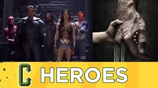 Justice League Finished Shooting, Logan Movie Details, NYCC 2016 Wrap Up - Collider Heroes