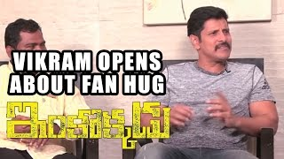 Chiyaan Vikram Opens about FAN HUG at Asianet Film Awards