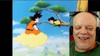 REACTION VIDEO | Dragon Ball Clip - Goku (Kinda) Saves Gohan!