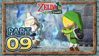 The Legend of Zelda: Spirit Tracks - Part 9 - Snow Sanctuary!