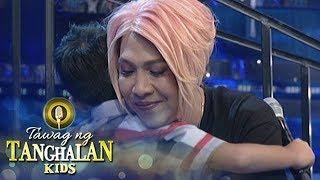 Tawag ng Tanghalan Kids: Vice gets emotional with Rjay's words