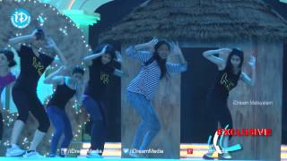 Actress Lakshmi Menon Dance Rehearsals - SIIMA 2014 Awards