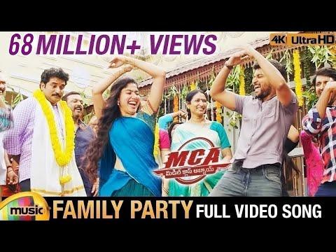 Xxx Mp4 Family Party Full Video Song 4K MCA Video Songs Nani Sai Pallavi DSP Dil Raju Mango Music 3gp Sex