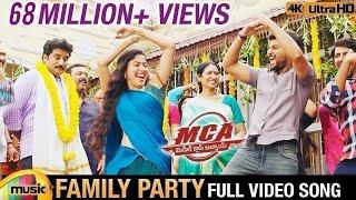 Family Party Full Video Song 4K | MCA Video Songs | Nani | Sai Pallavi | DSP | Dil Raju |Mango Music