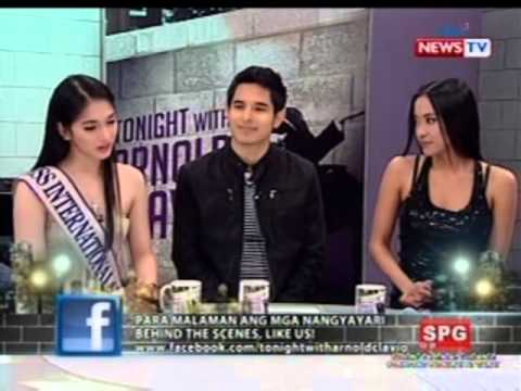 Kevin Balot Sebastian Castro and Mocha Uson talk about being gay on Tonight with Arnold Clavio