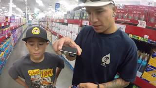 HIDE & SEEK AT SAM'S CLUB turns into FIVE NIGHTS AT FREDDY'S