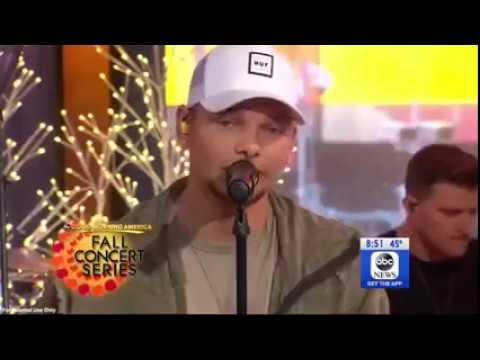 """Kane Brown brought a little """"Heaven"""" to GMA"""