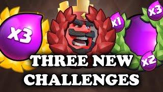 Sudden Death | 3x Elixir | Ramp Up | NEW Clash Royale CHALLENGES