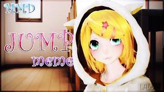 【MMD】JUMP!【meme】