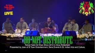 Rahat Fateh Ali Khan - SURILI AKHIYON WALE live in Ahoy Rotterdam 2012 HD