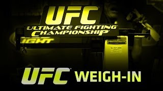 UFC Fight Night: Rockhold vs Philippou Official Weigh In