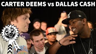 Carter Deems vs. Dallas Cash - No Coast Rap Battle