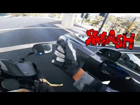 Biker Smash Mirror | Road Rage | Angry People vs Bikers Compilation | [Ep. #50]