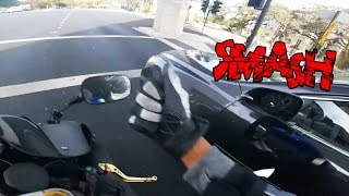 Biker Smash Mirror | Road Rage | Angry People vs Bikers Compilation | [Ep. #50]