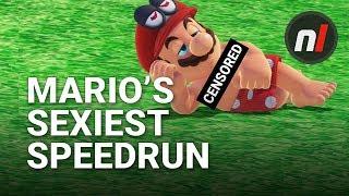 Mario's Sexiest Speedrun - Nipple% Run Super Mario Odyssey