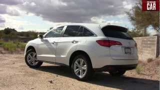 2013 Acura RDX 0-60 MPH Inside and Out