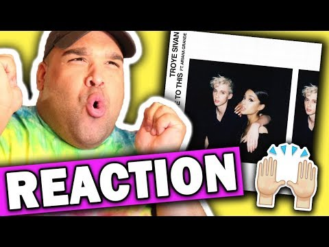 Troye Sivan ft. Ariana Grande - Dance To This [REACTION] mp3