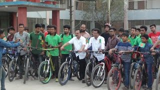 PANGSHA 26 MARCH 2017 BICYCLE RALLY