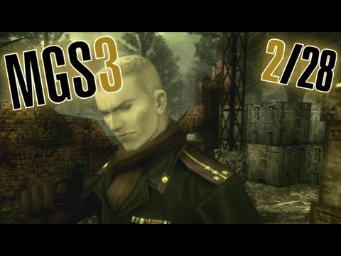 Metal Gear Solid 3 -- (2/28) Your Daily Dose of Vitamin K