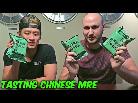 watch Tasting Chinese Military MRE (Meal Ready to Eat)