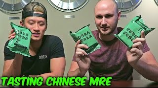 Tasting Chinese Military MRE (Meal Ready to Eat)
