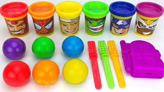 Making 3 Ice Cream out of Play Doh and Learn Colors | Yowie PJ Masks Toys LOL Kinder Surprise Eggs