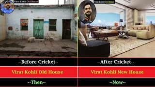 Indian Cricketers Houses Before And After Join Cricket || Old Houses vs New Houses
