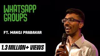 Manoj Mento on whatsapp - standup comedy video!