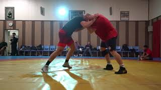 Kyle Snyder and David Taylor Spar