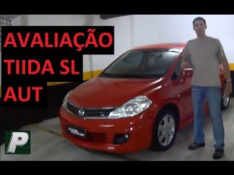 Caçador de Carros Nissan TIIDA SL Automático EM DETALHES