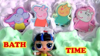Peppa Pig Bathtime Buddies Bath Fizzies for kids with Mr. Bubble