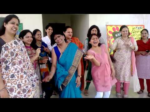mothers dancing at KCIS JAMMU