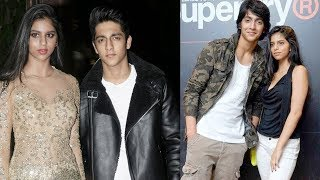 All Moments When SRK's Daughter Suhana Khan CAUGHT With Boyfriend Ahaan Pandey