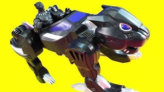 Marvel Black Panther Toys With Panther Jet Vs. Villains From Power Rangers