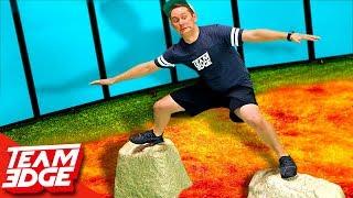 Floor is Lava Challenge!!