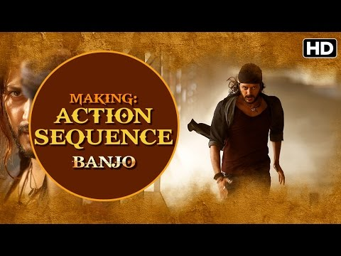 Making of Banjo (Action Sequence) | Riteish Deshmukh, Nargis Fakhri, Ravi Jadhav