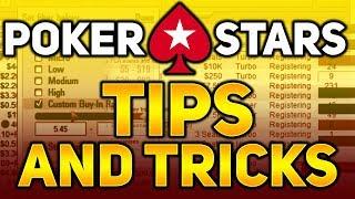 PokerStars Tips and Tricks