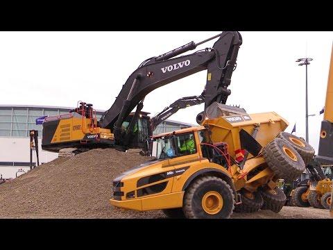The Big Volvo Demo Show @ Bauma 2016 Part 3