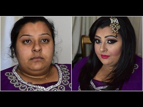 Asian Bridal Makeover /Pakistani Bridal Makeup