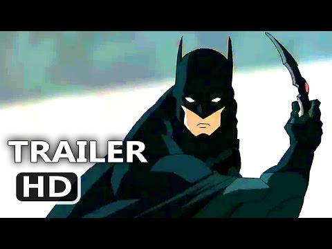 JUSTICE LEAGUE DARK Official Trailer Batman 2017 DC Superhero Animated Movie HD